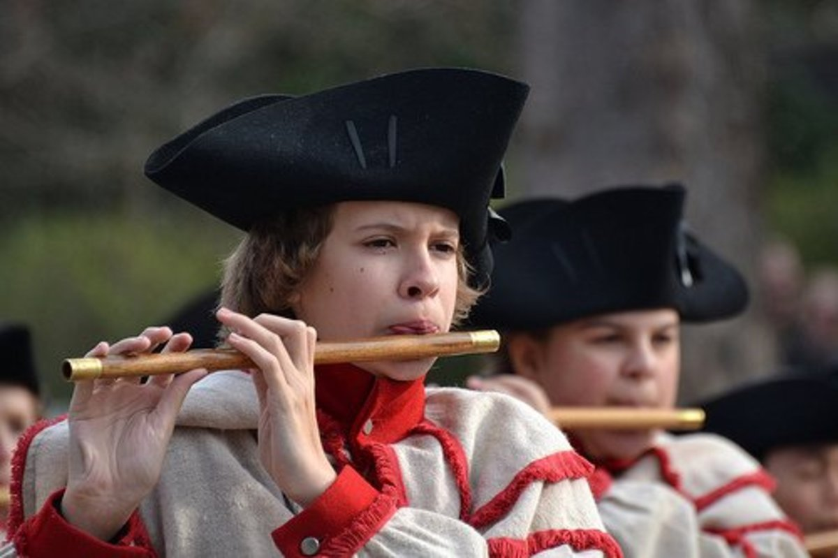 Colonial Williamsburg Fife and Drums