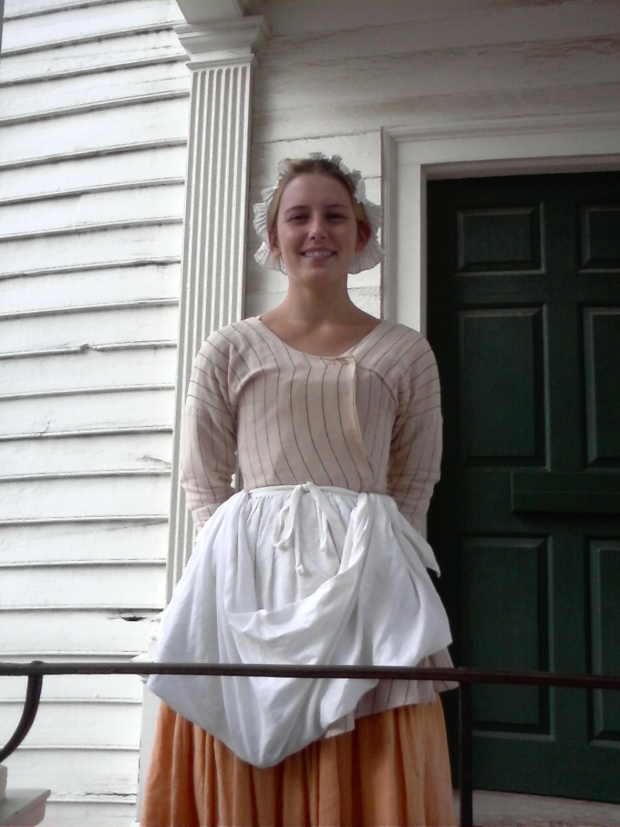 Me, looking kind of goofy while working at Colonial Williamsburg
