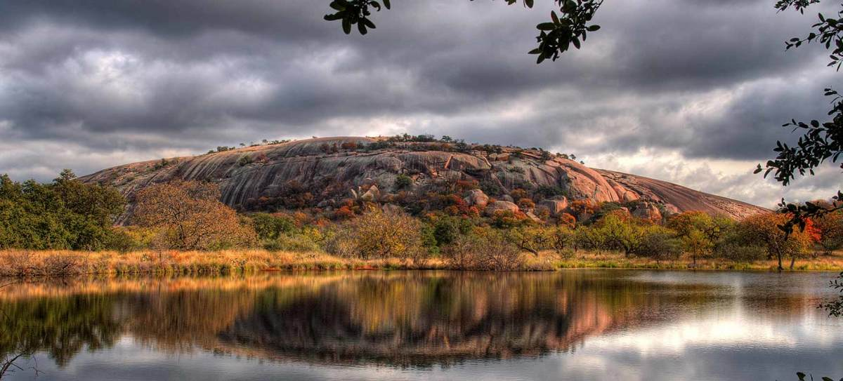 Enchanted Rock is filled with Indian lore and has been a landmark in Central Texas for decades.