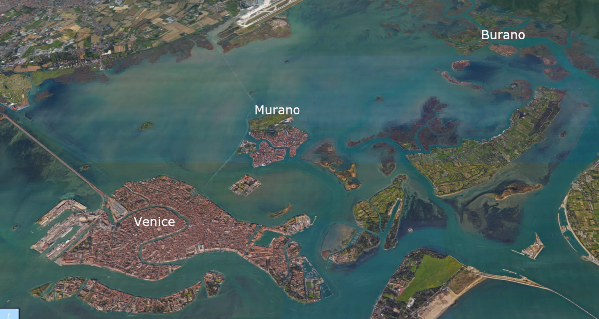 Burano is a little far out from the Venice main islands, but it's well worth the trip if you have the time.