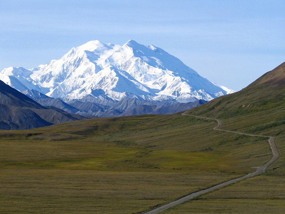 This is what Denali looks like on a clear day