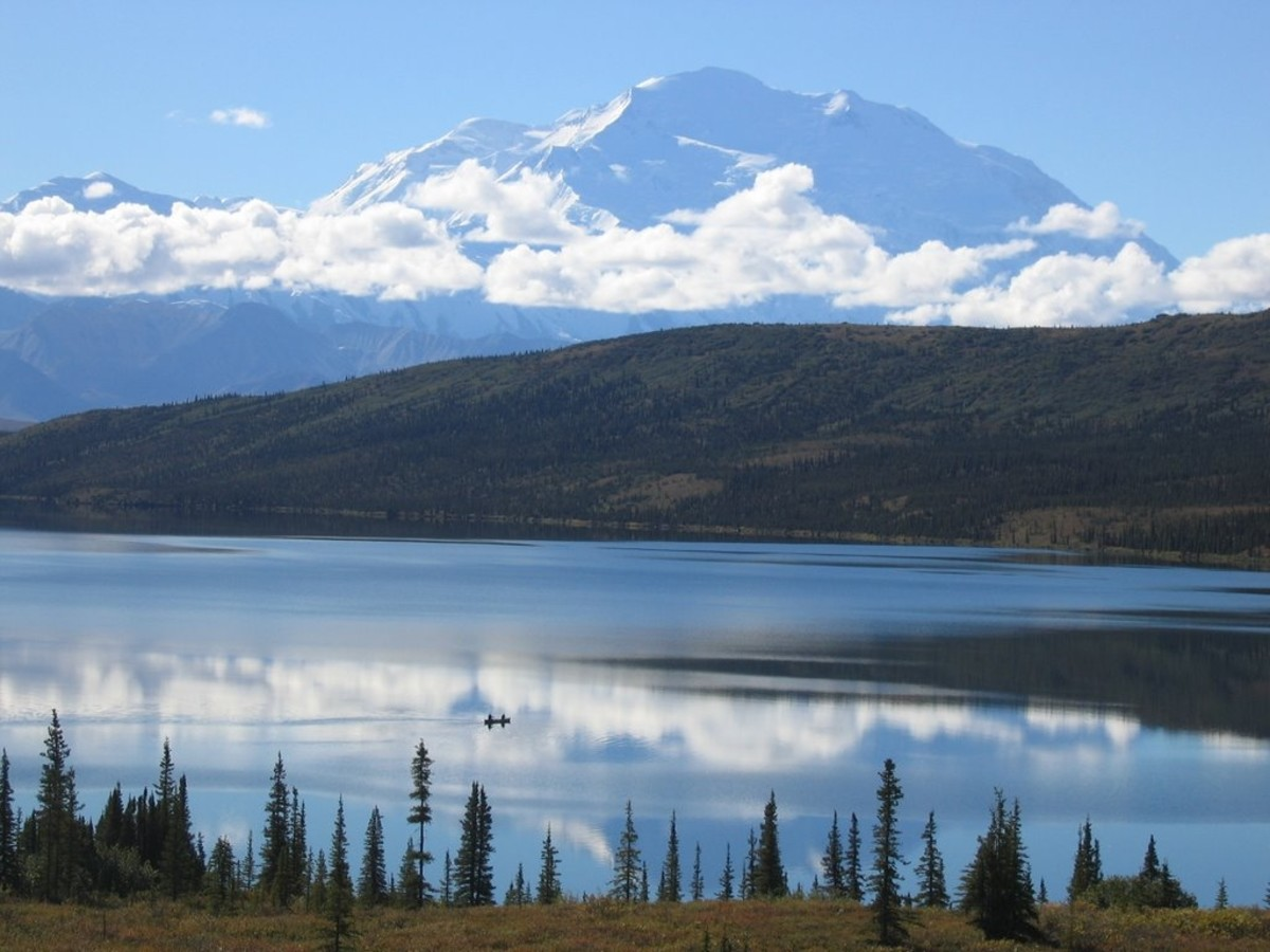 Denali from Wonder Lake