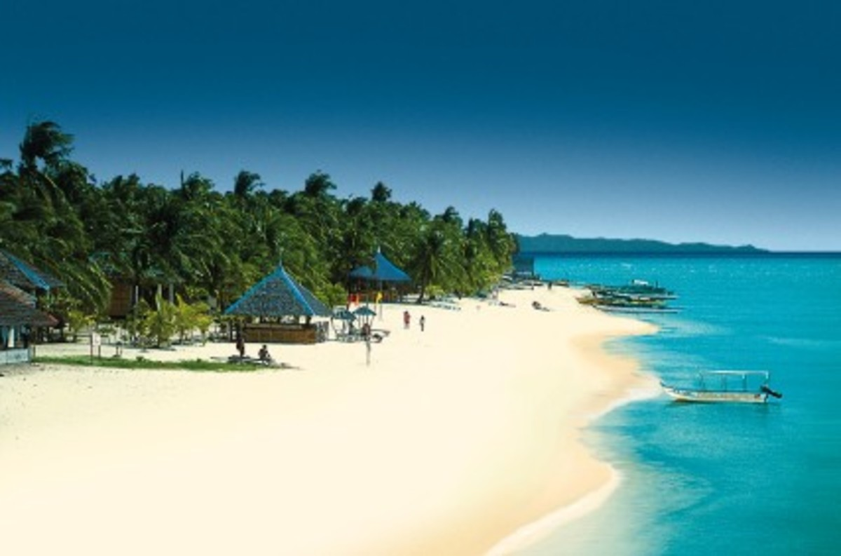 Boracay: A tourist's dream.