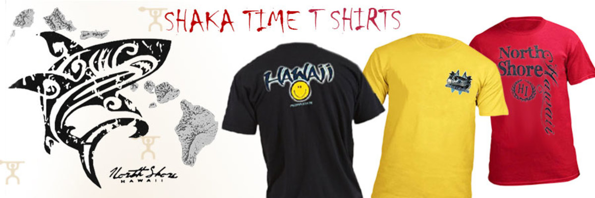 You won't have a problem finding a Hawaiian tshirt to take home with you. They are for sale everywhere.