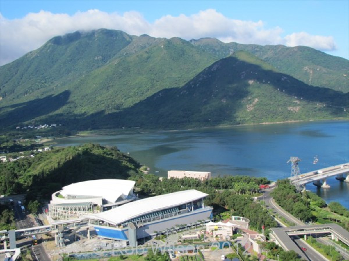 Tung Chung, with its mountains and sea views is a quiet oasis from the bustle of life in Hong Kong.