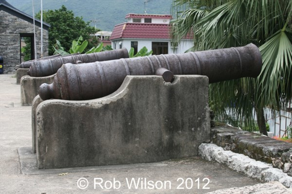 Tung Chung Fort in Tung Chung.