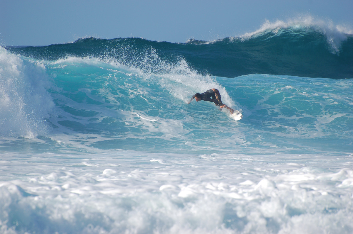 Ehukai Beach Park is home to the Banzai Pipeline and some of the world's biggest surf waves from November through March.