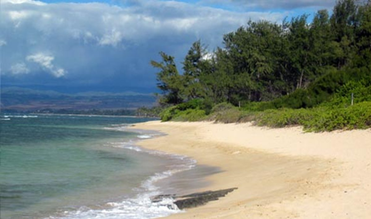 Mokuleia Beach is popular with windsurfers.