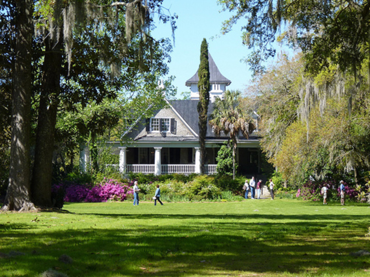 The House at Magnolia Plantation.