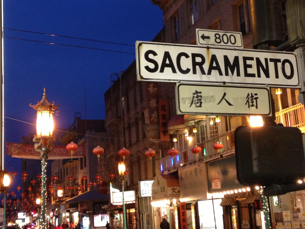 Also, you can get some great photos of SF Chinatown at night.