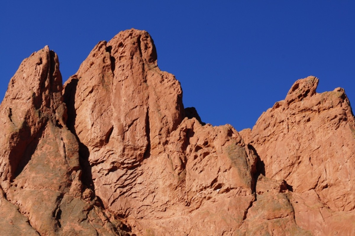 I wanted to include this picture only because I liked it.  This is near the North Gateway Rock.