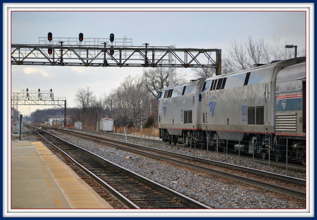 California Zephyr at Naperville, IL