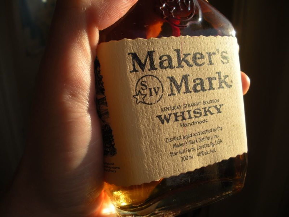 An example of a good quality—and pricey enough—whiskey to bring.