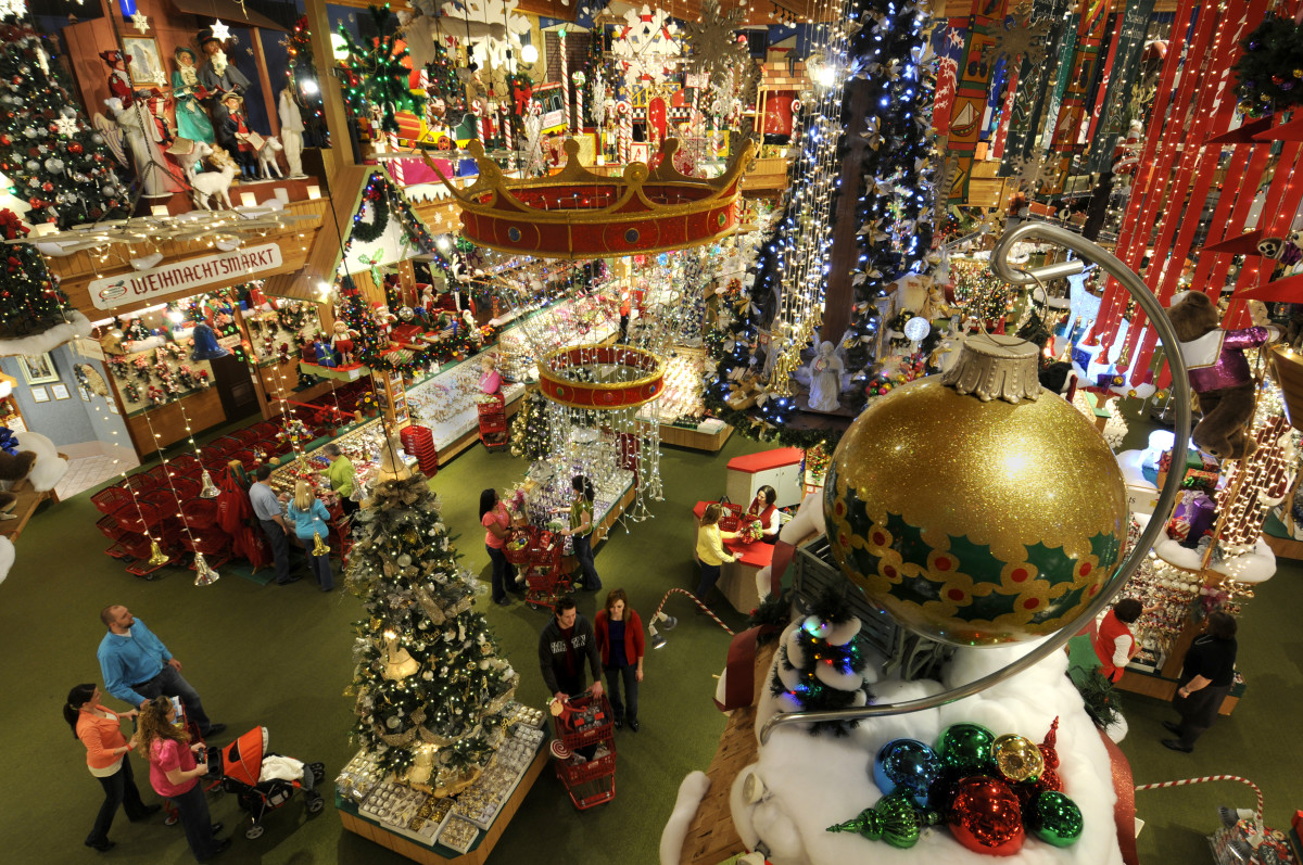 Bronner's Christmas Wonderland has all of the decorations imaginable year-round