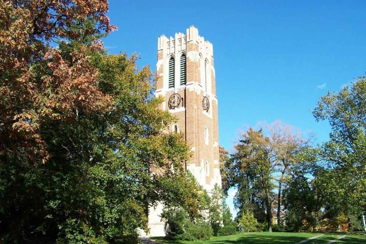 Beaumont Tower on the MSU campus