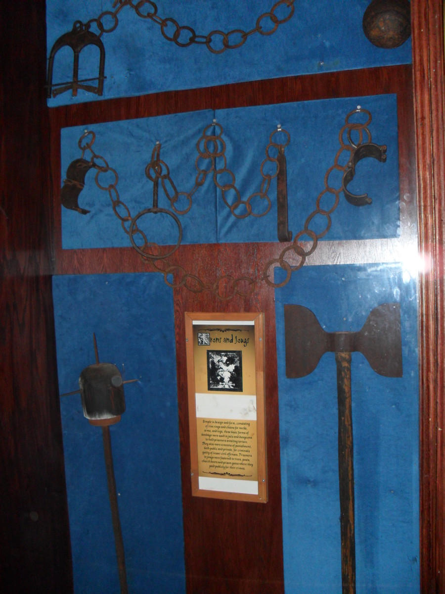 An exhibit found at the Medieval Times Torture Museum