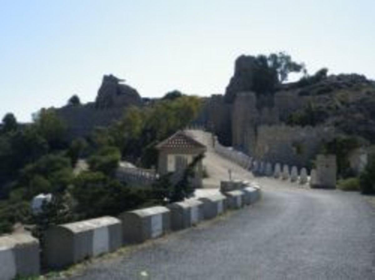 Road to Castillitos