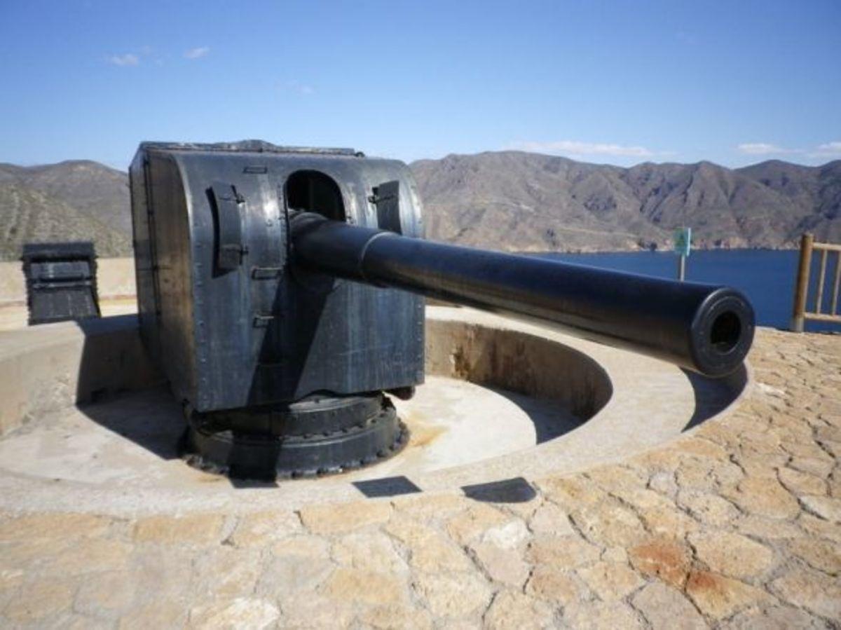 6 inch Gun, El Jorel