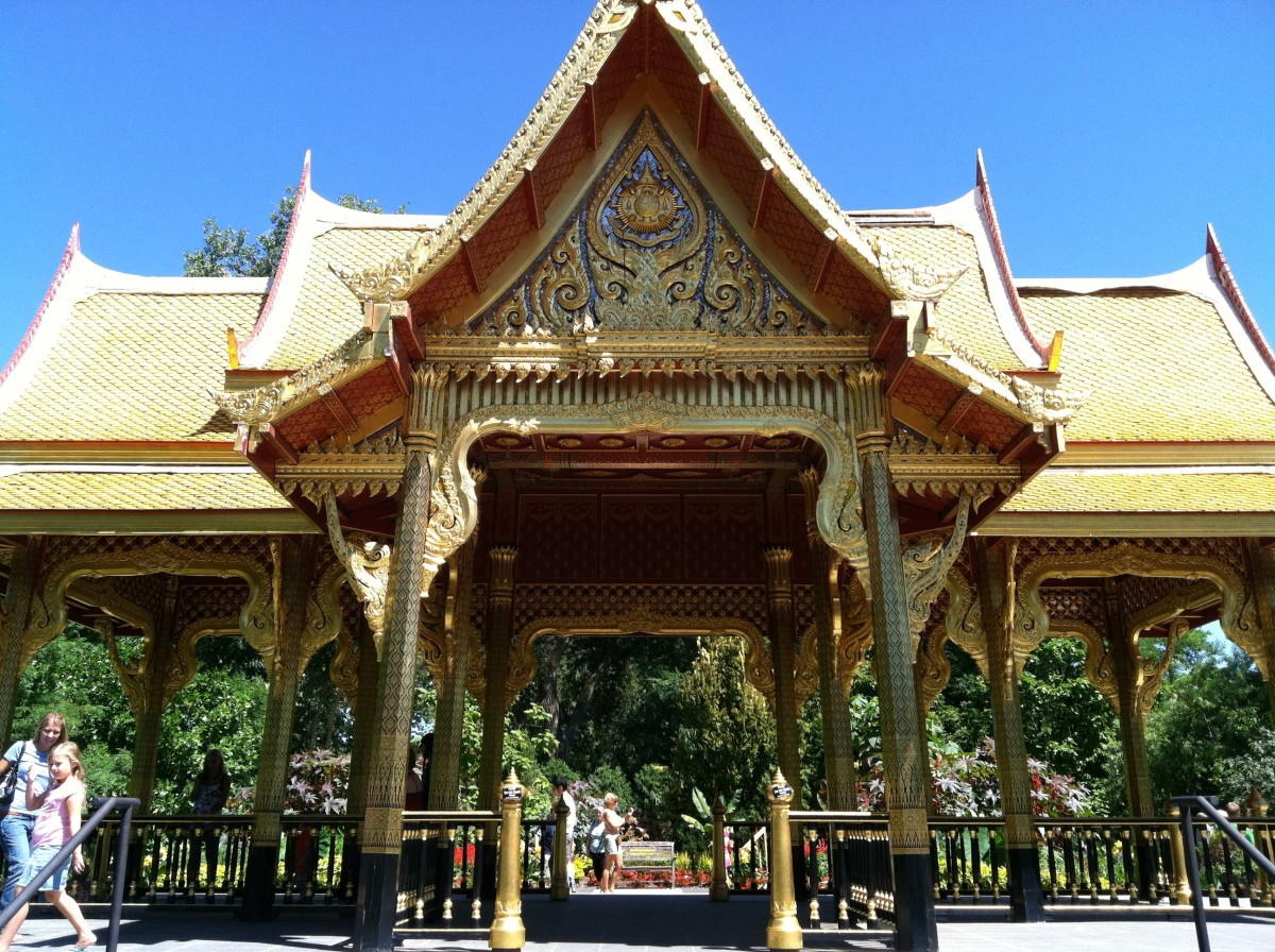 Thai Pavillion at Olbrich Gardens