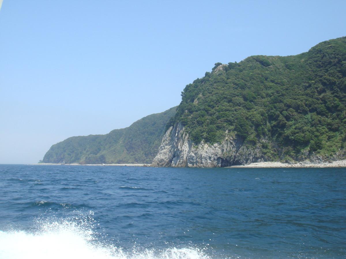 Izu coast.