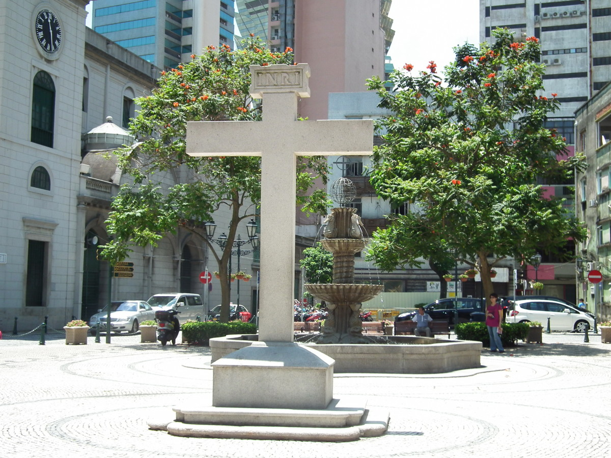 Macau Cathedral Square