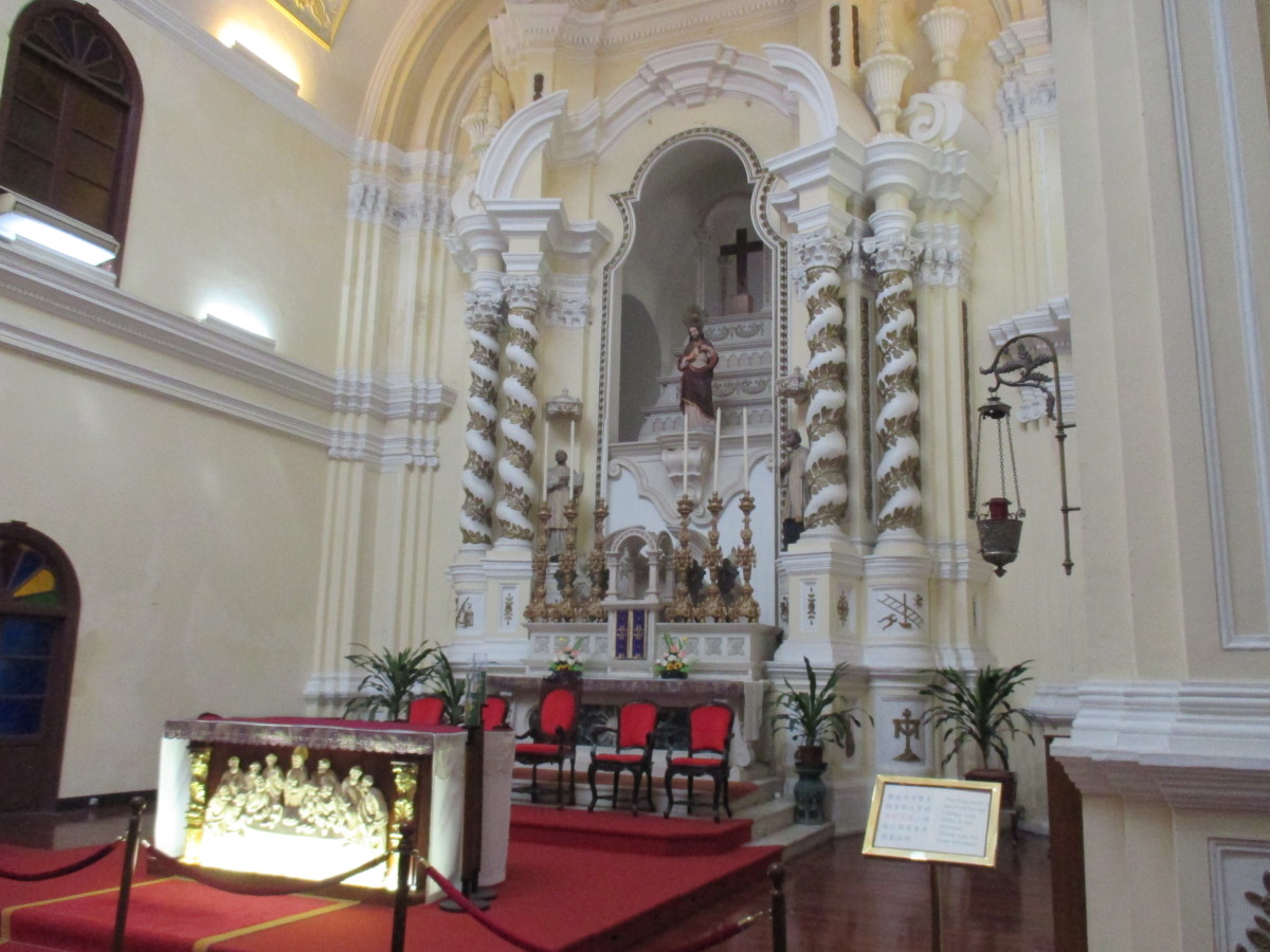 Inside St Joseph's Church