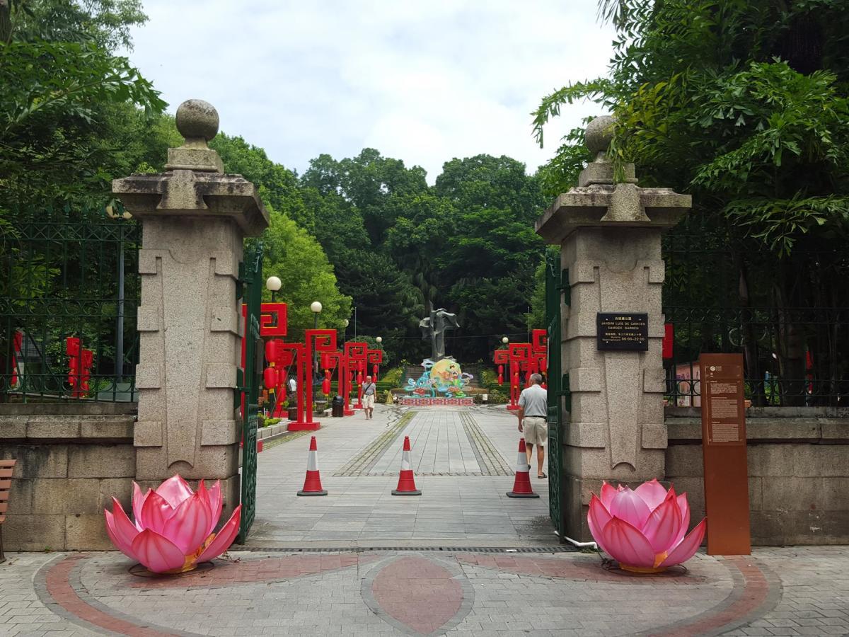 Entrance to Camoes Garden.