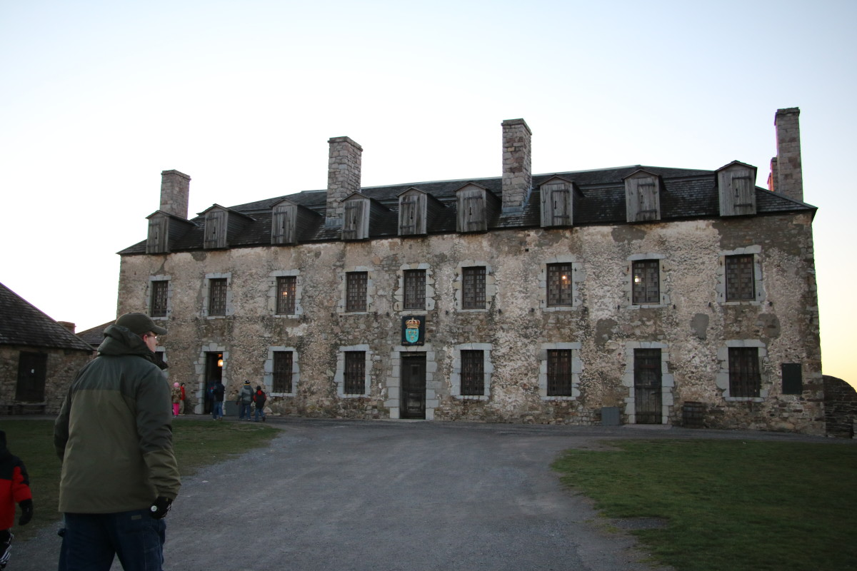 Erected in 1726 by the French, the castle at Fort Niagara is fascinating to explore.