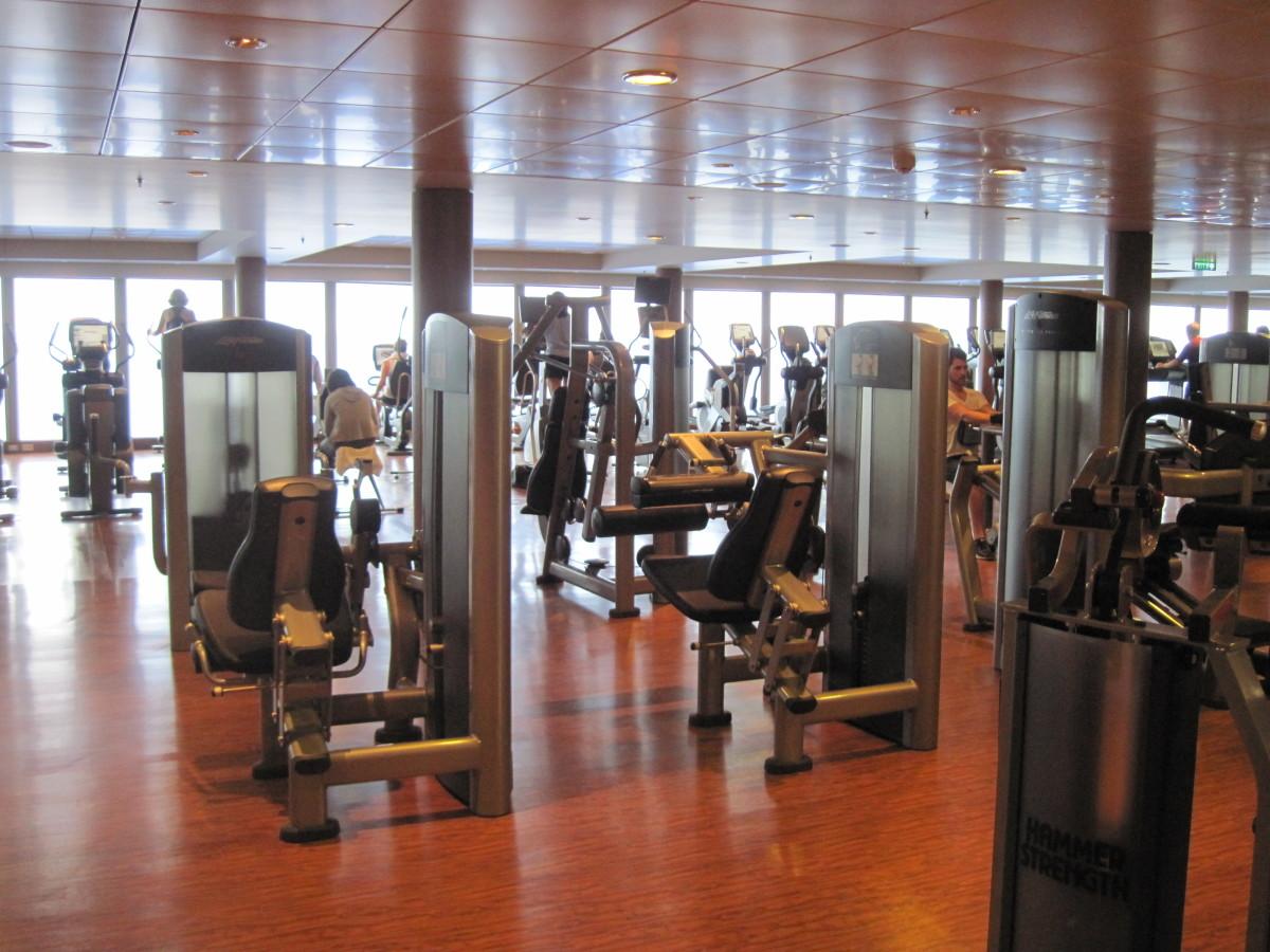 Norwegian Epic workout center