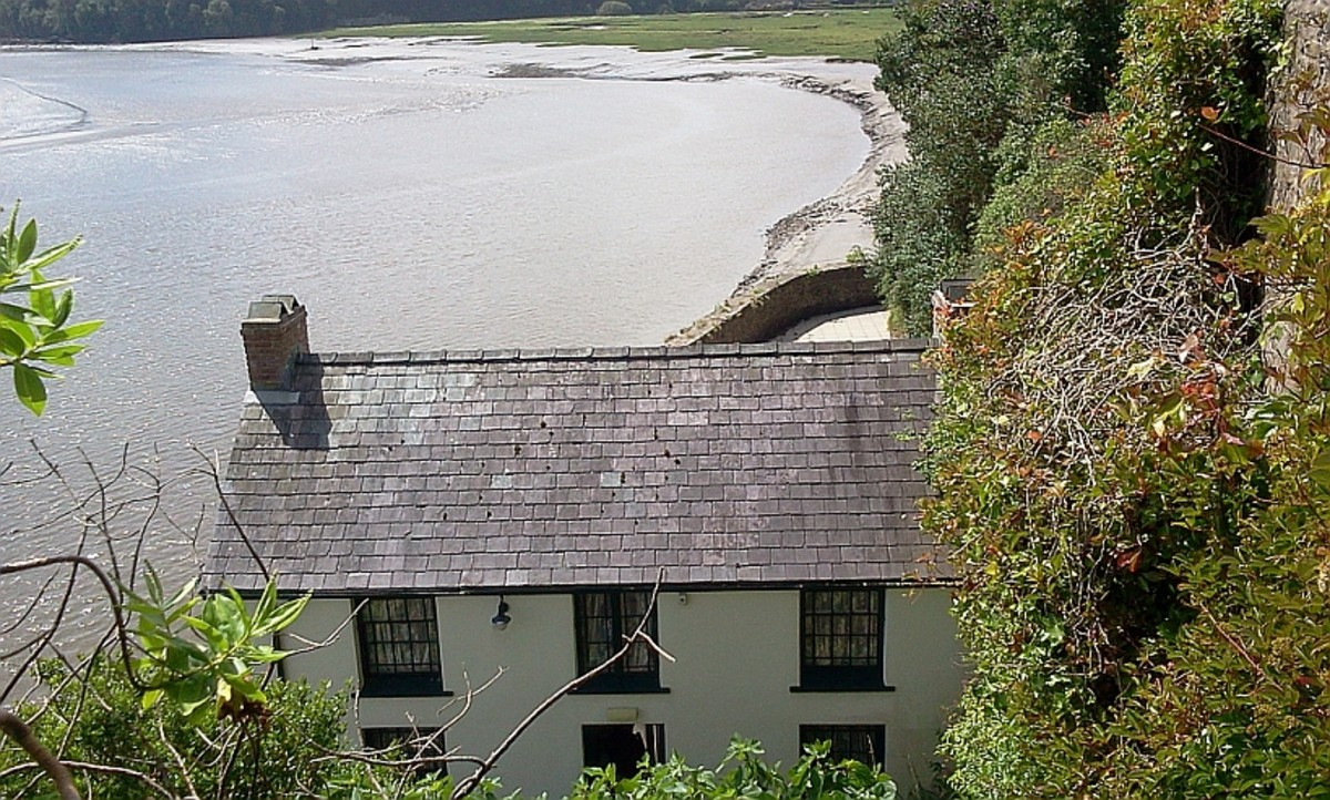 The Boat House, the home of Dylan Thomas.