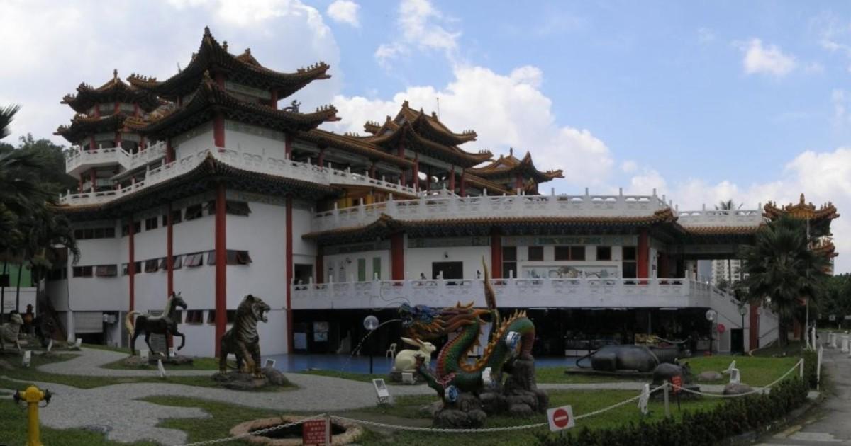 Thean Hou Temple in Kuala Lumpur.