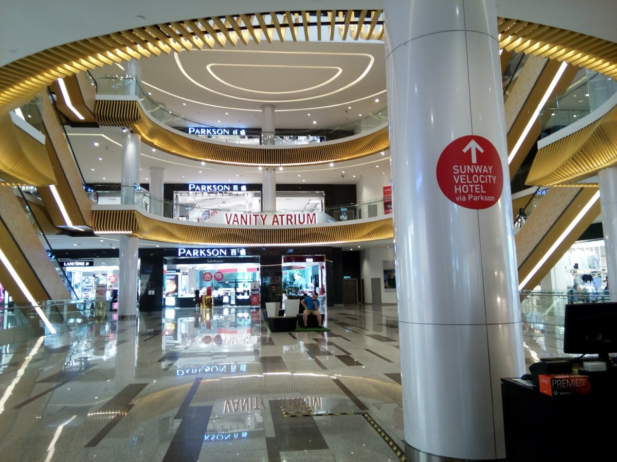 Sunway Velocity Mall is a shopping hub that caters to most international brands and fashions.