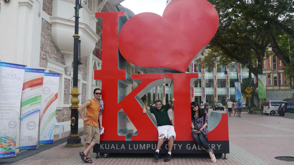 The iconic I Love KL