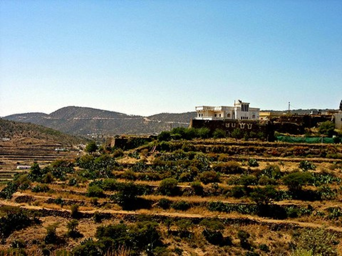 Villages along the way from Abha to Al-Sooda