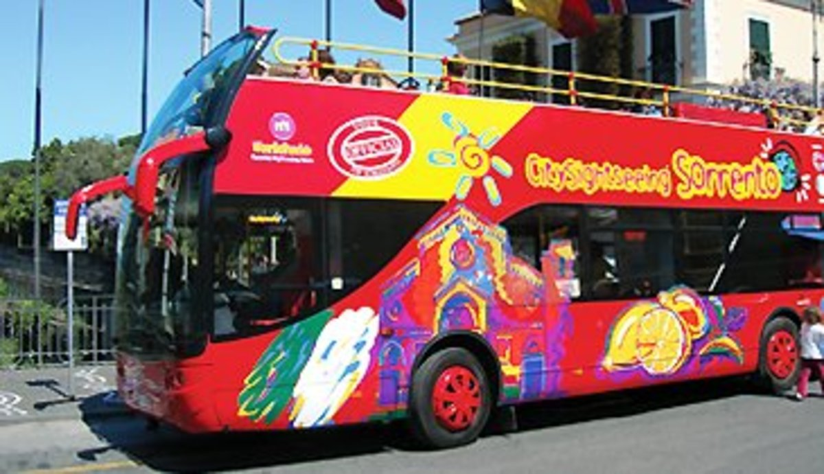 Sorrento Hop-on Hop-off Bus.