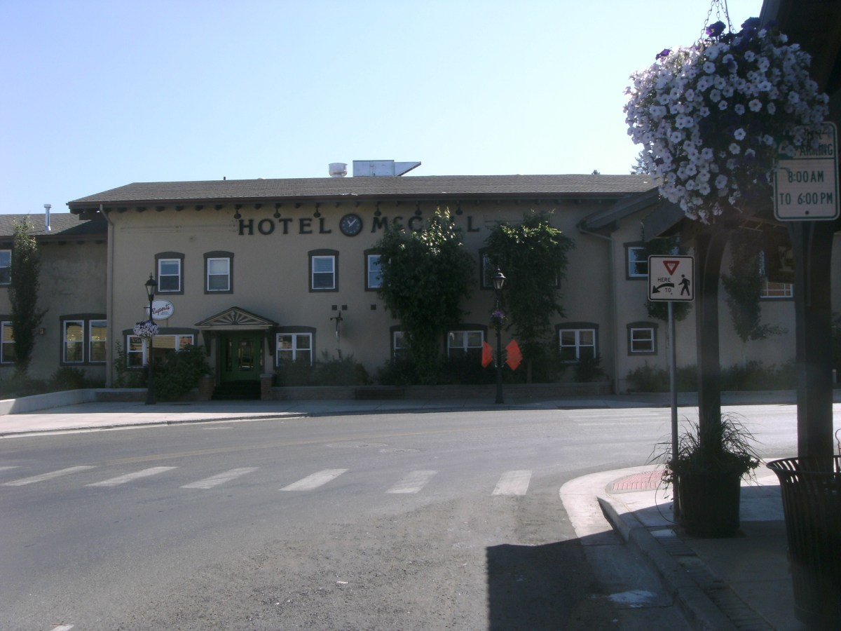 The Hotel McCall can make a pleasant change from staying in a national chain motel.