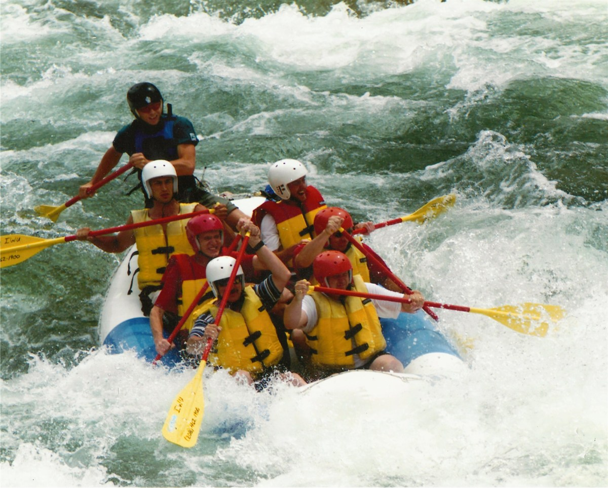We had a ball rafting the Payette River.