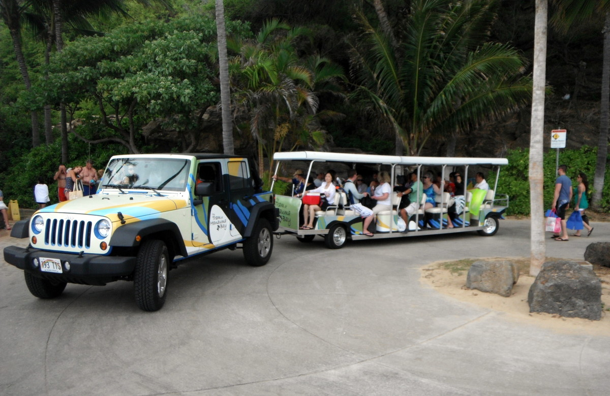 Hanauma Bay shuttle