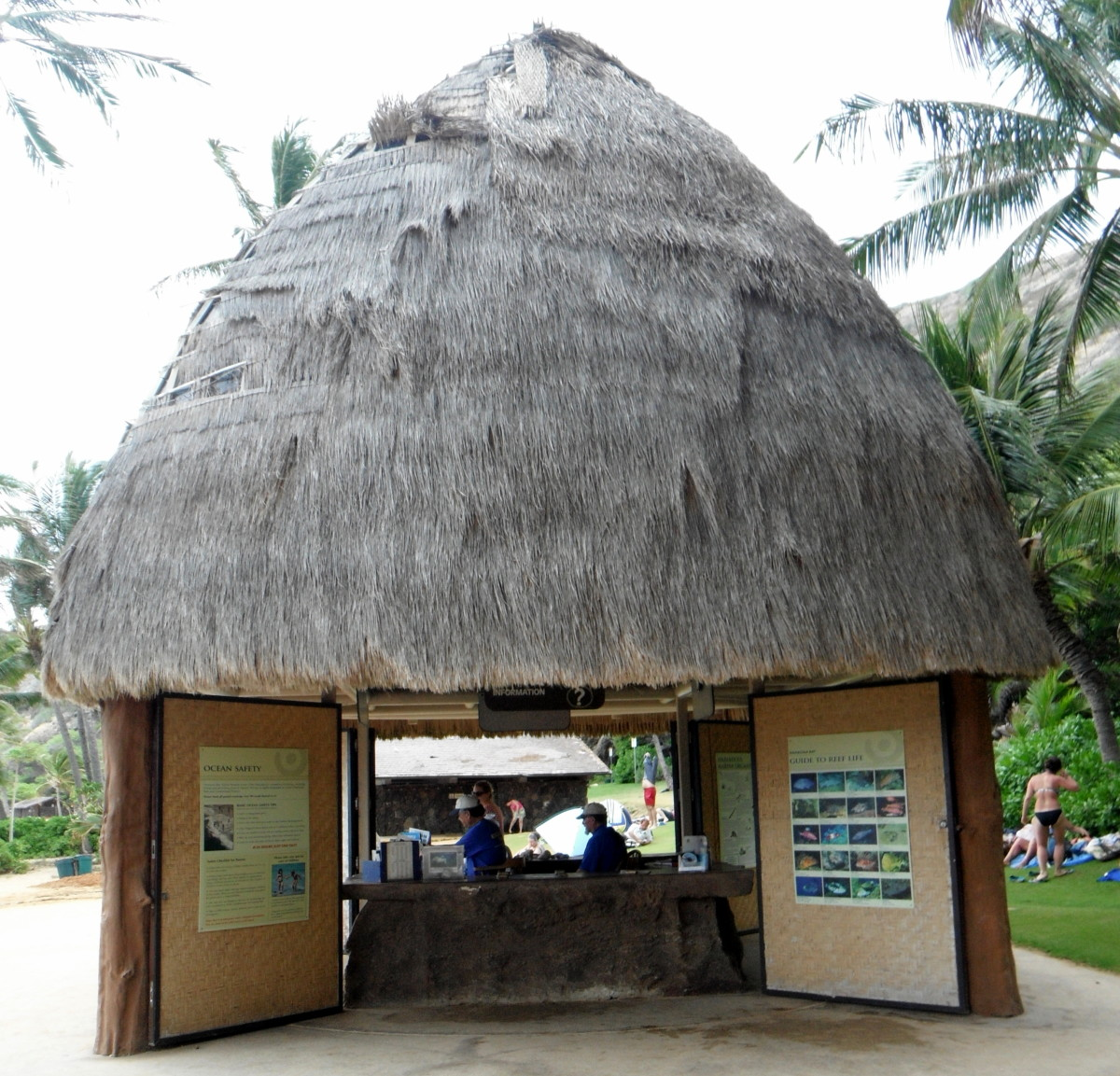 Education booth