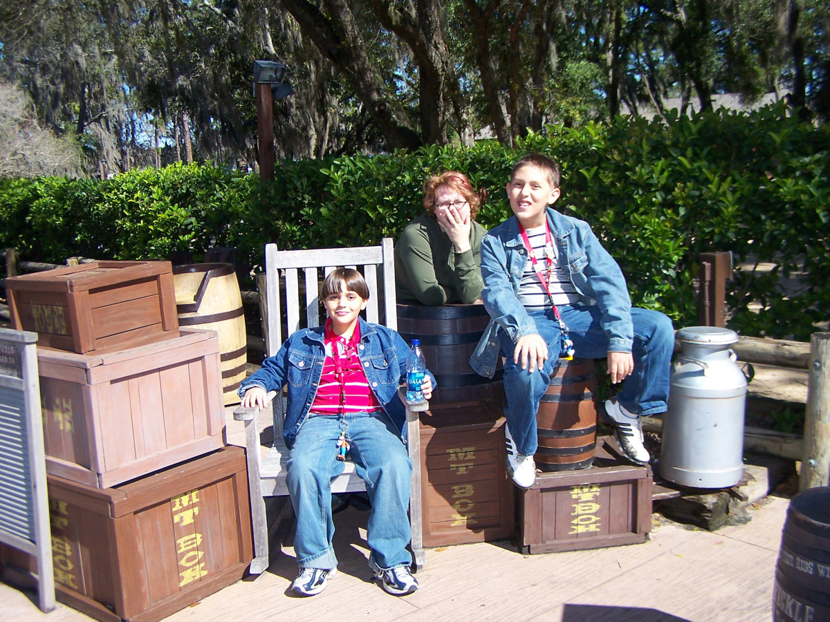 Camping at Disney can't be beat. Look for lots of fun photo ops around the entire resort
