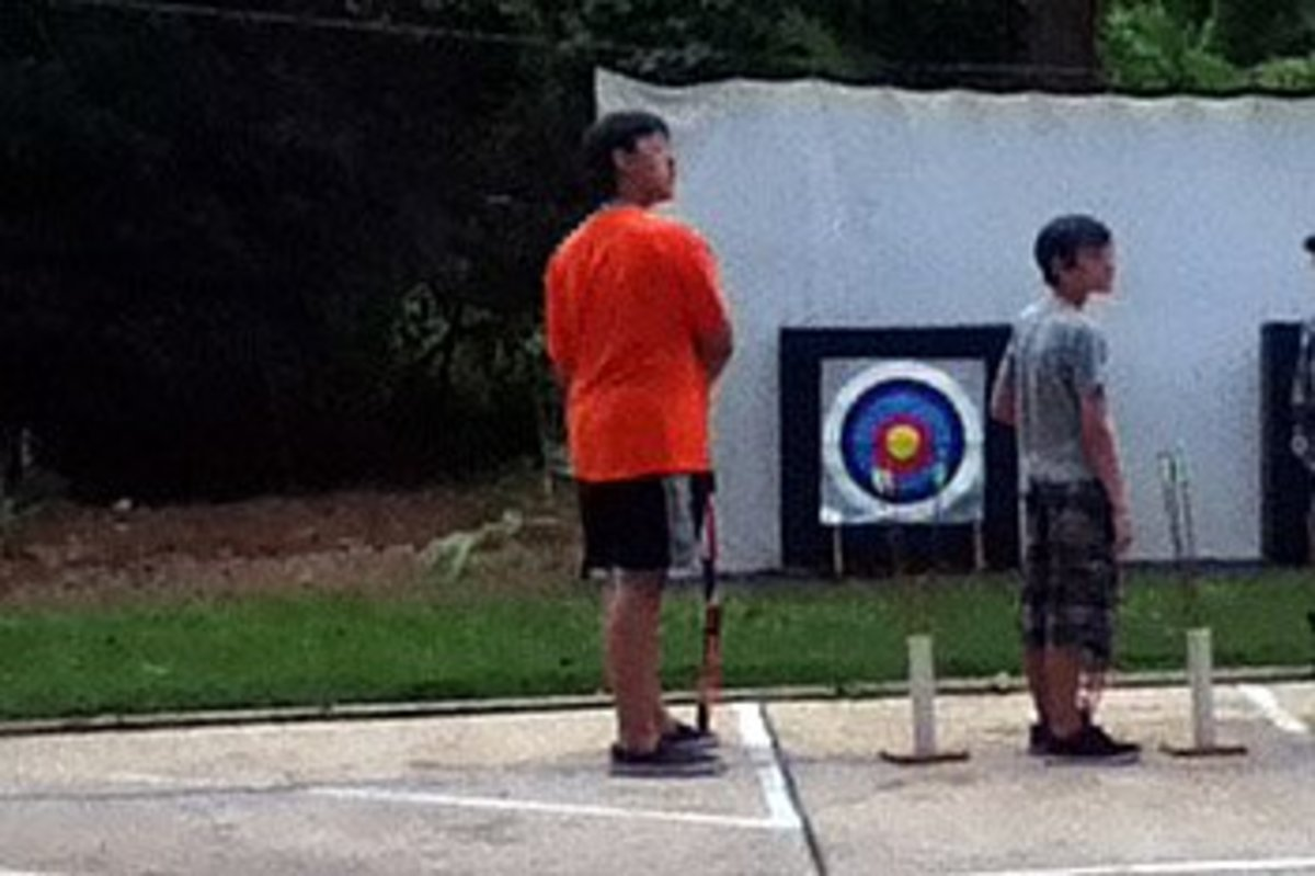 Archery lessons are a great way to spend an afternoon at Fort Wilderness