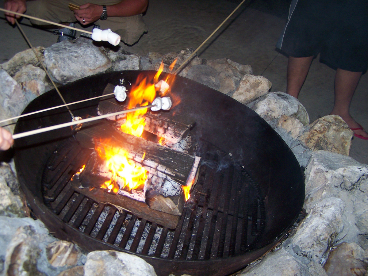 Roast some marshmallows, make some S'mores
