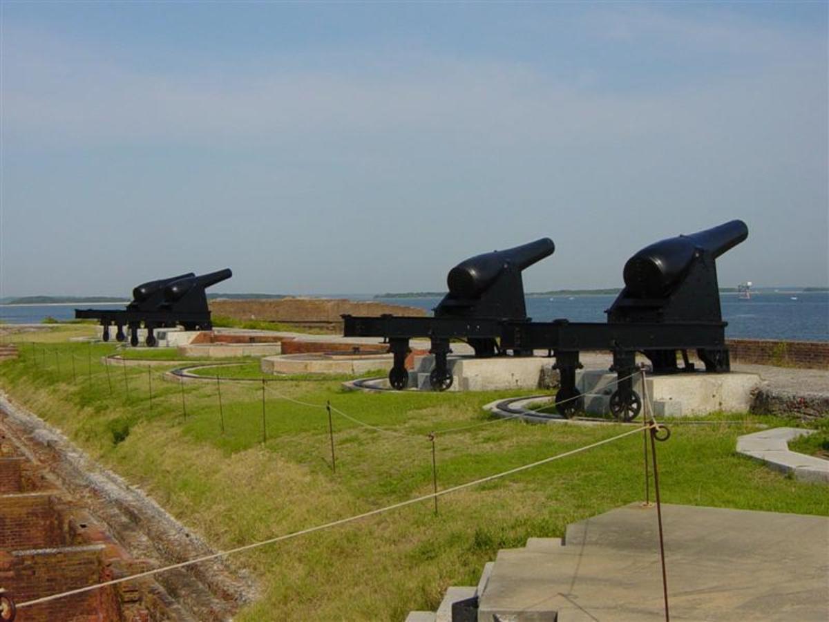 Guns at Fort Clinch