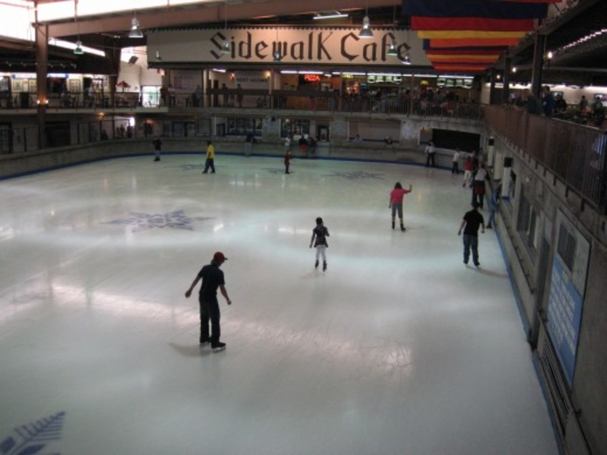 Ober Gatlinburg - ice skating