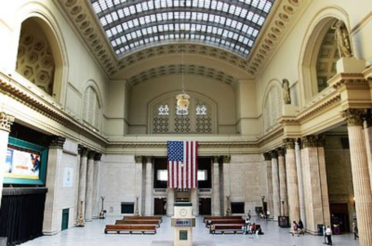 The Great Hall in Chicago's Union Station.