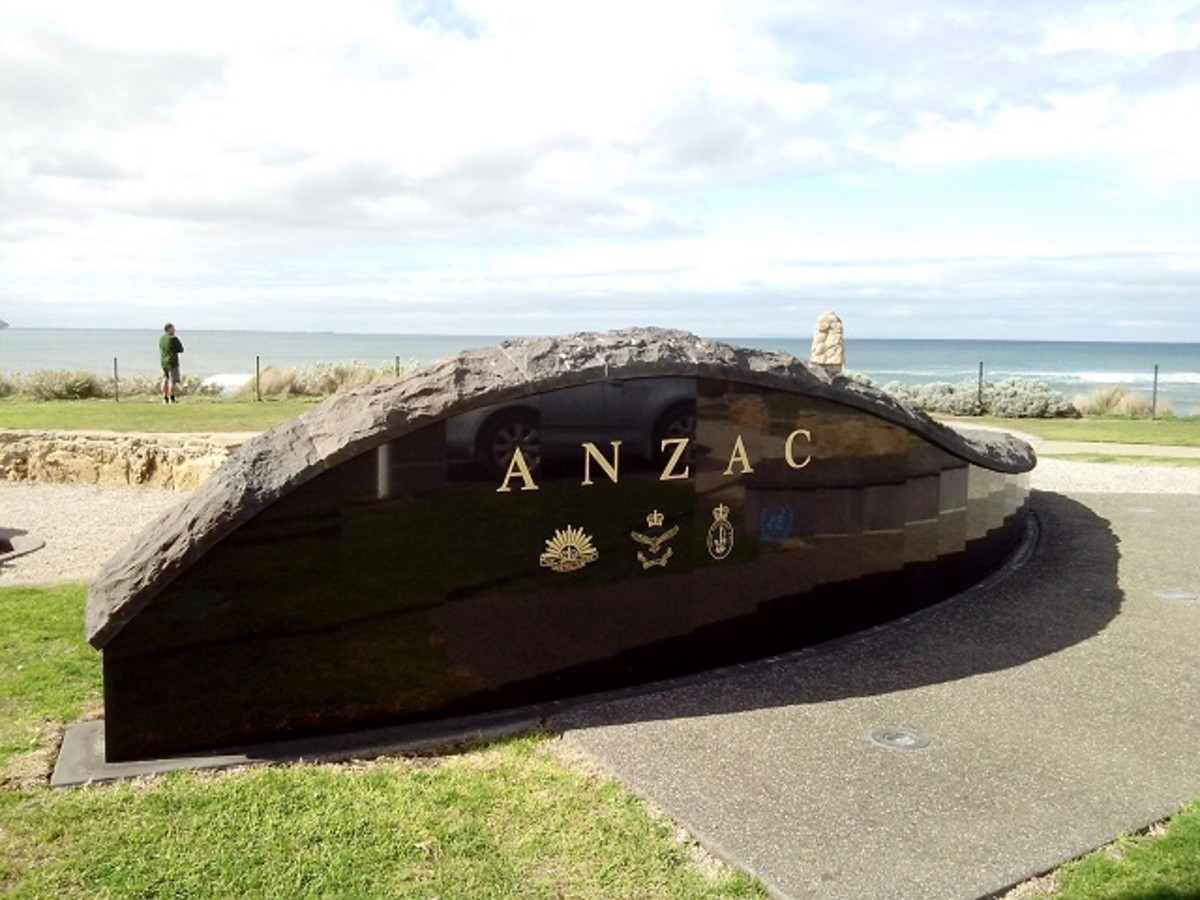 Anzac Memorial at Point Danger, Torquay
