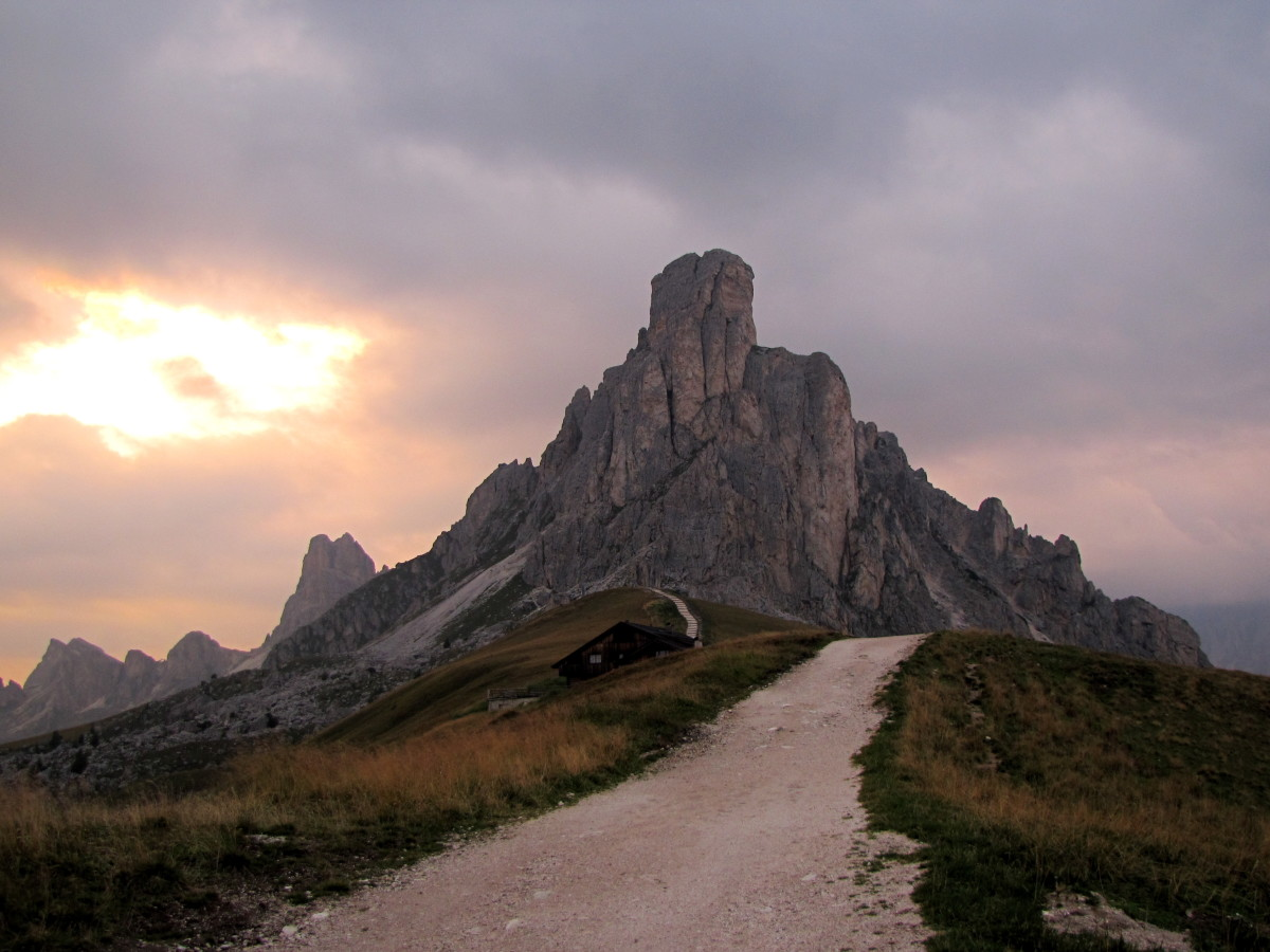 Passo Giau - the Nuvolau
