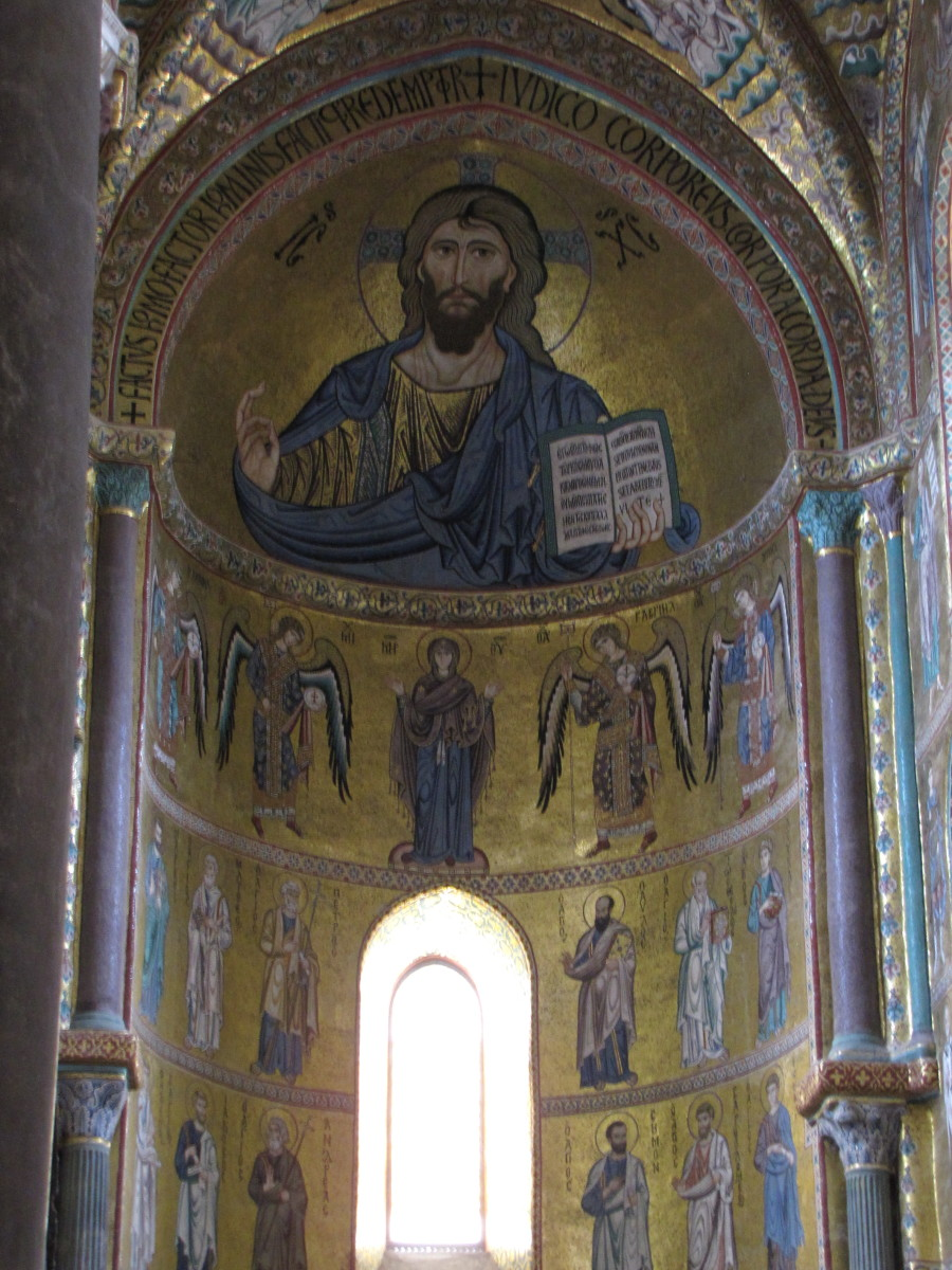 Mosaic of Christ Pantokrator