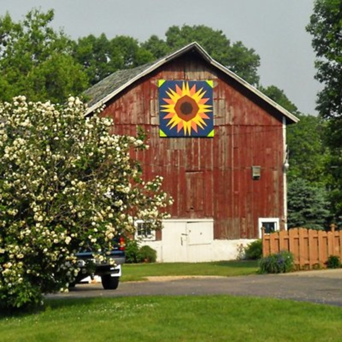 Located on the farm of Doug and Laura Zettle