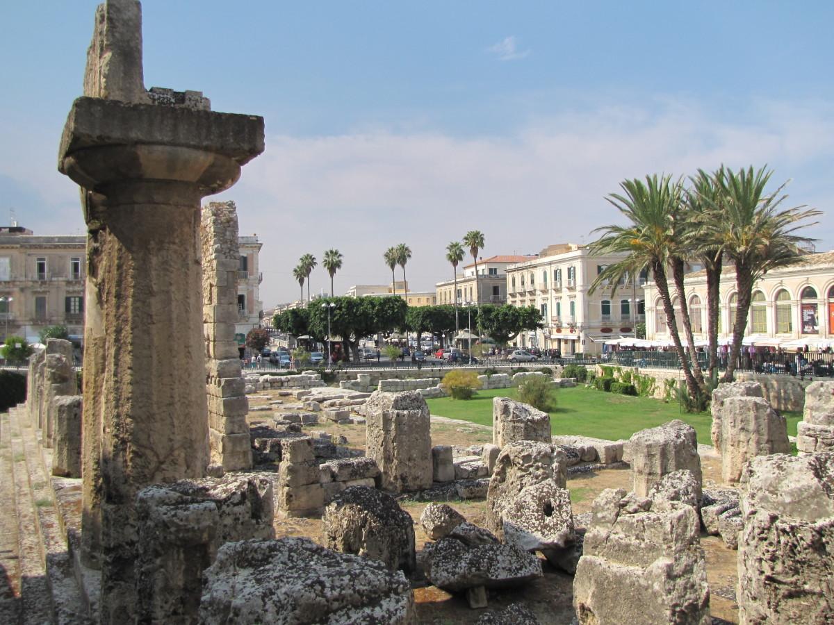 Temple of Apollo - notice the Doric Column.